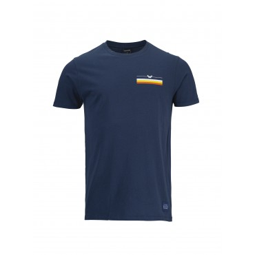 T-Shirt Pull In - Navy