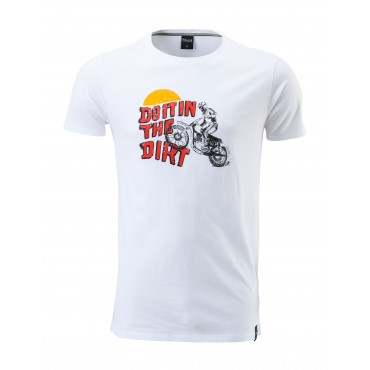 T-Shirt Pull In - Dirt White